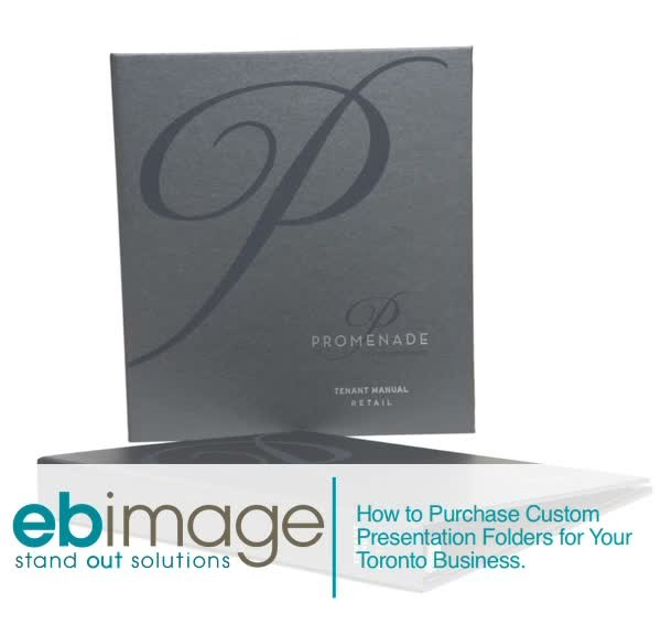 How to Purchase Custom Presentation Folders for Your Toronto Business
